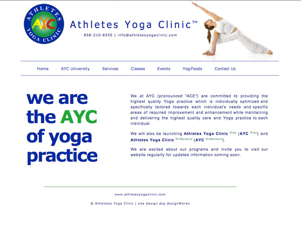 Athletes Yoga Clinic