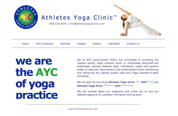 Athlete's Yoga Clinic