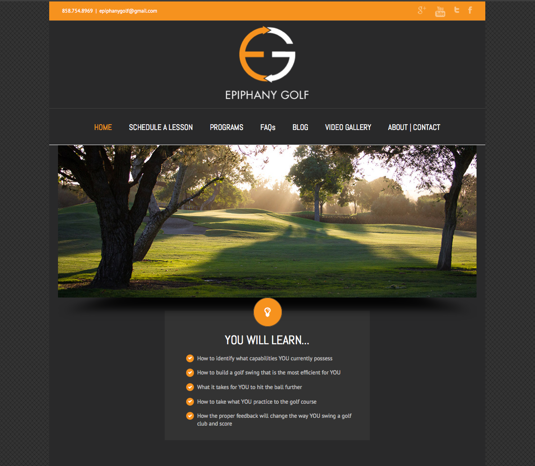 Epiphany Golf